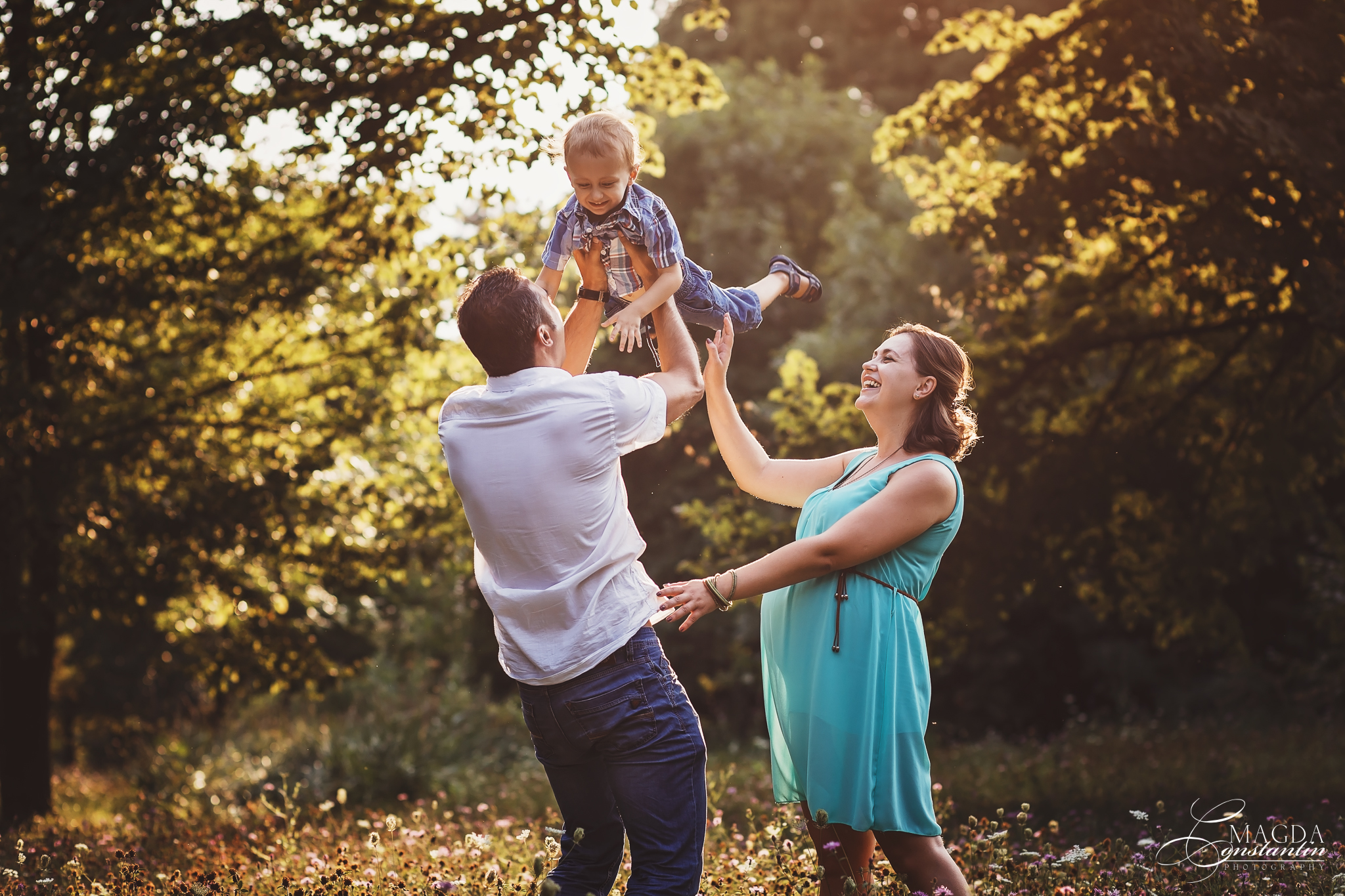 Seba, Elena si Dan – sedinta foto de maternitate