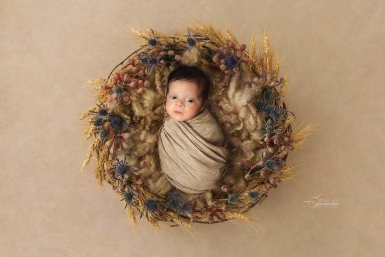 Sedinta foto bebelusi nounascuti in Bucuresti