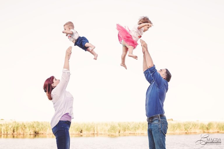 Sedinte foto de familie pline de libertate