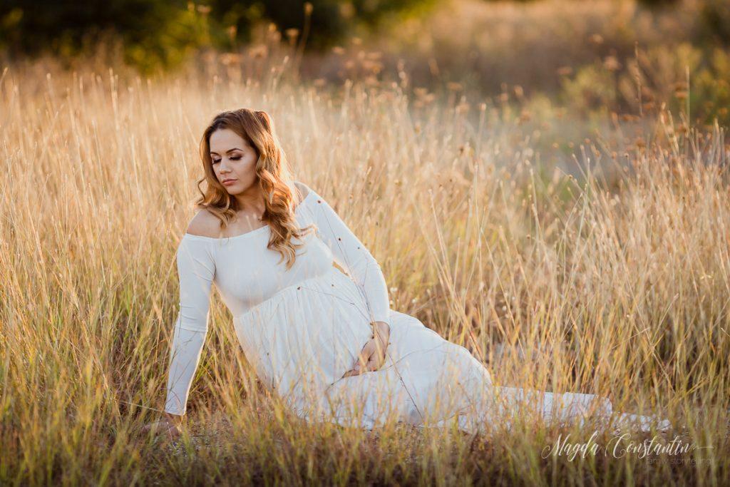 Fotografii de graviduta cu Cristina - fotograf Magda Constantin