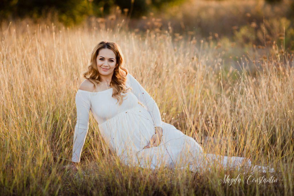 Fotografii de gravida cu Cristina - fotograf Magda Constantin