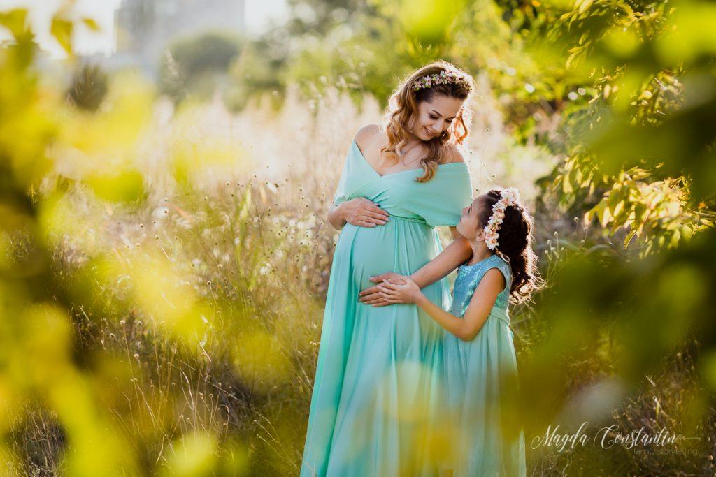 Sedinta foto de maternitate cu Cristina - fotograf Magda Constantin