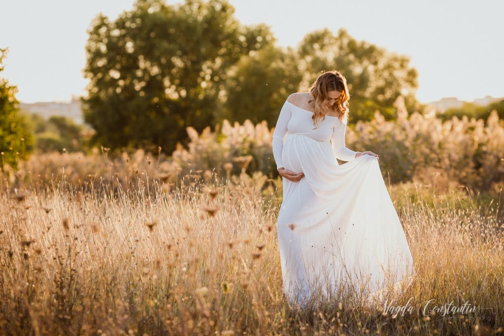 Sedinta foto de gravida cu Cristina - fotograf Magda Constantin