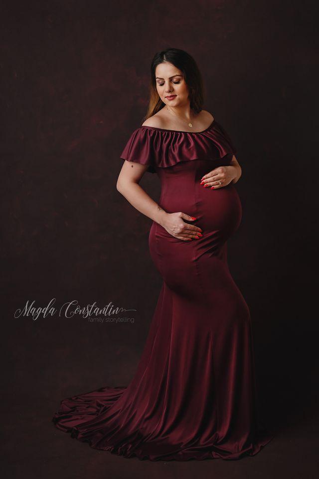 Sedinta foto de gravida in Bucuresti