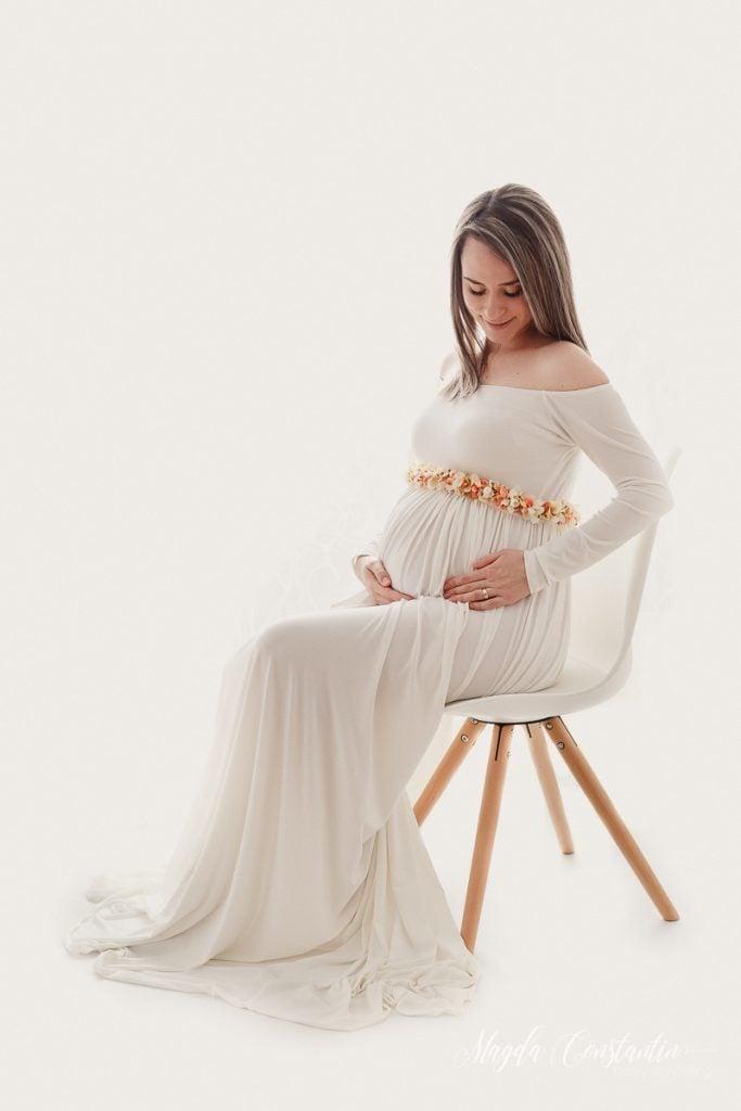 Sedinta foto maternitate cu Ramona - fotograf Bucuresti Magda Constantin