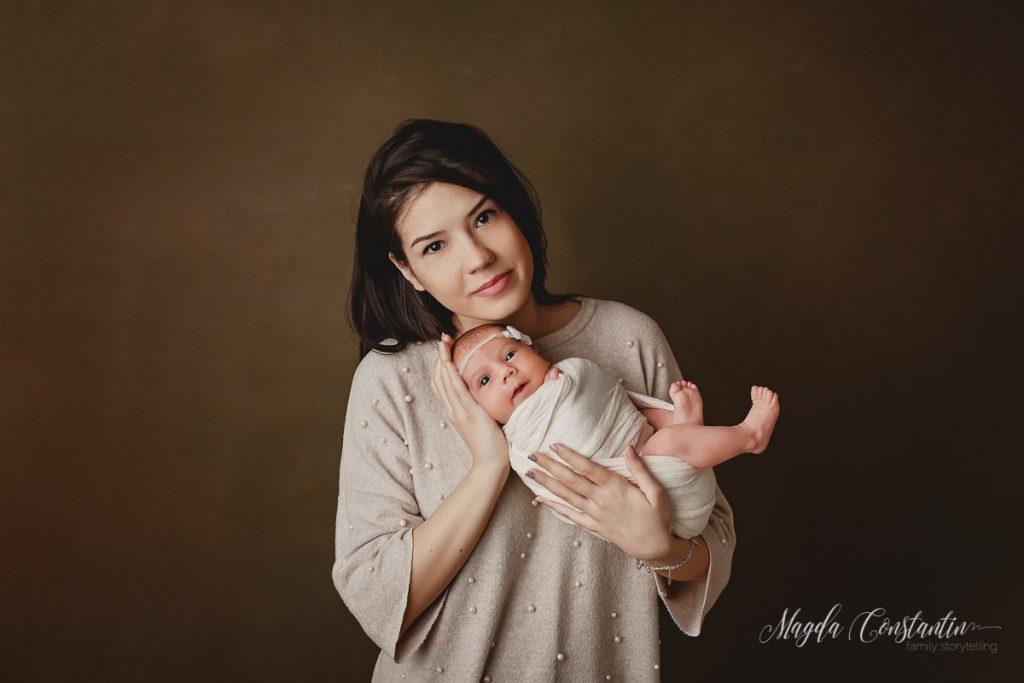 Sedinta foto de bebelusi cu Maria Rosaria, fotograf Magda Constantin