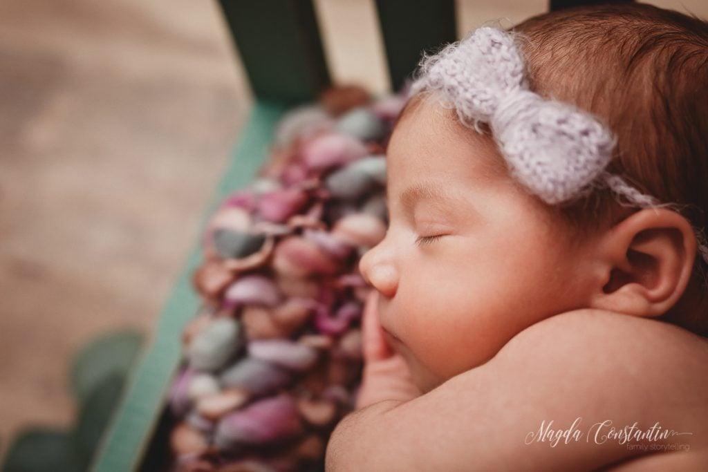 Sedinta foto de bebelusi cu Maria Rosaria - fotograf Magda Constantin