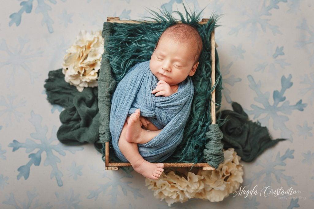 Sedinta foto nou nascut baietel